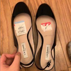 LK Bennett slingback heel